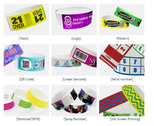 Craft-For-Tyvek-Rfid-Wristbands