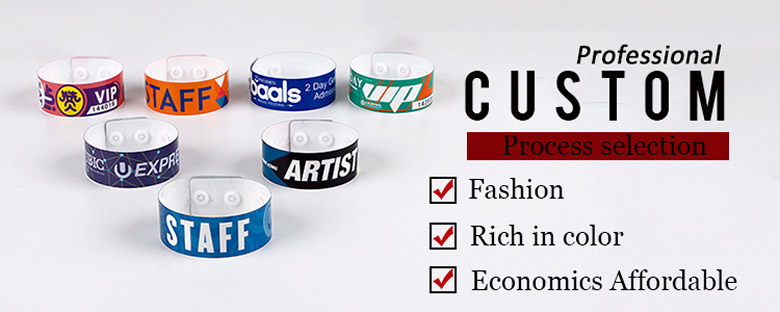 Customize Rfid Vinyl Wristbands