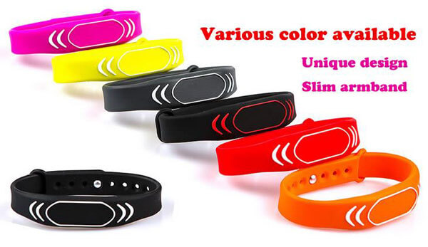 Custom Rfid Wristbands For GYM