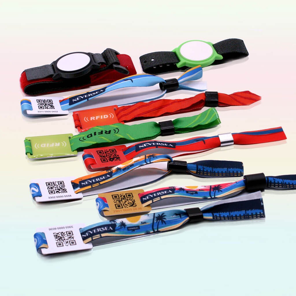 Rfid Nylon Wristbands