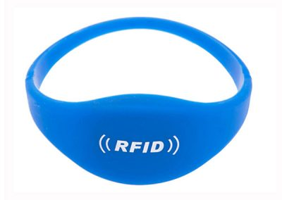 Oval Close-Loop-Silicone RFID Wristband