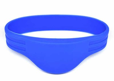 Double Chips Rfid Silicone Wristband