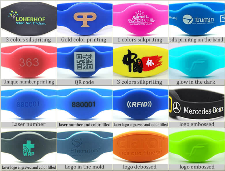 rfid silicone wristband craft