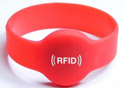 Round Head Close-Loop RFID Wristband