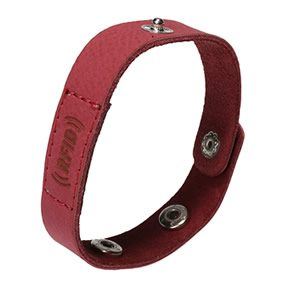 RFID Leather Wristband