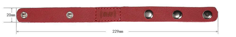 measurement-of-leather-rfid-wristband
